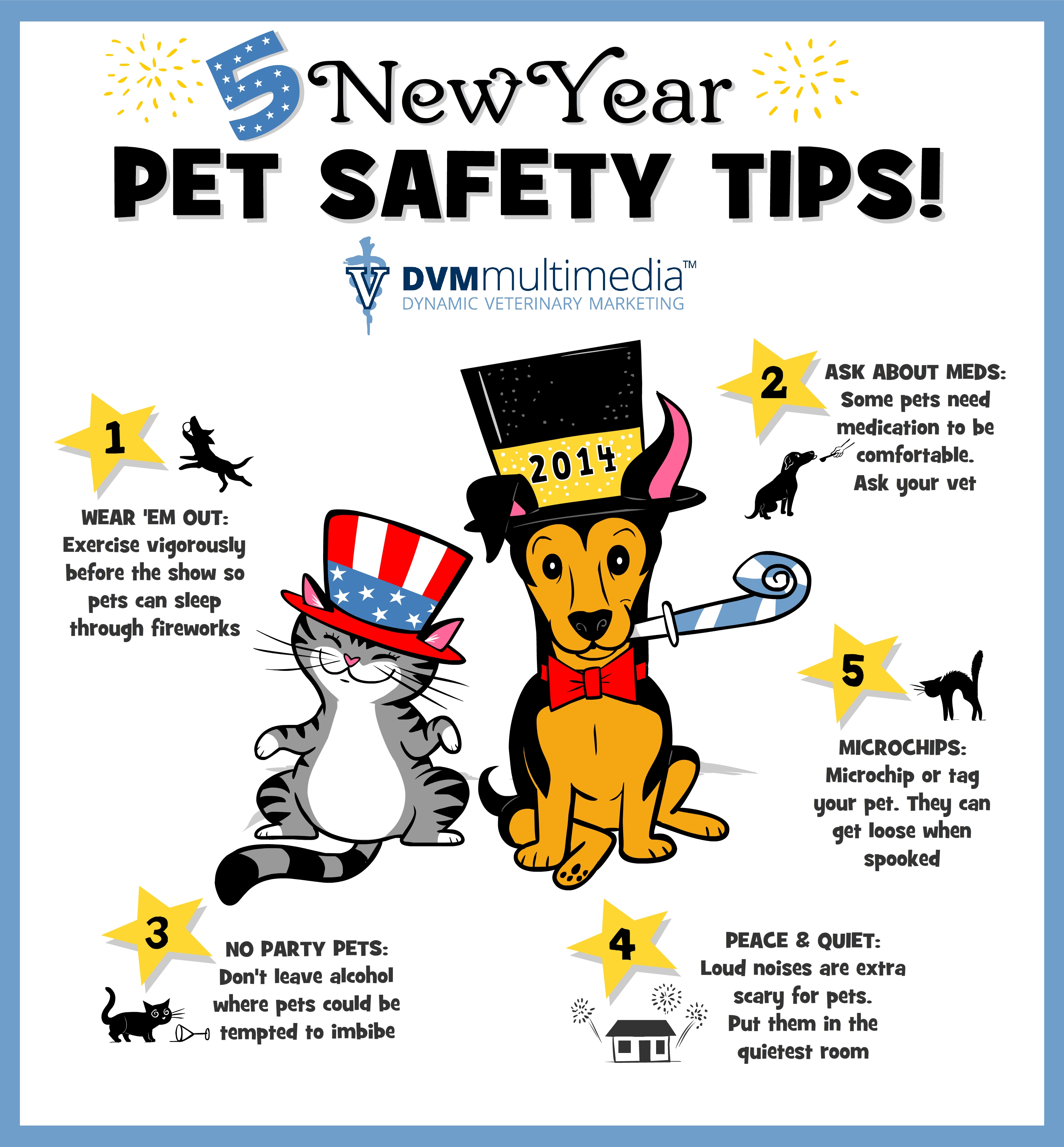 New Year\'s Pet Safety | South Valley Animal Hospital
